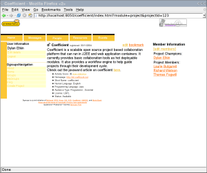 DGroups OneWorld Theme Screenshot